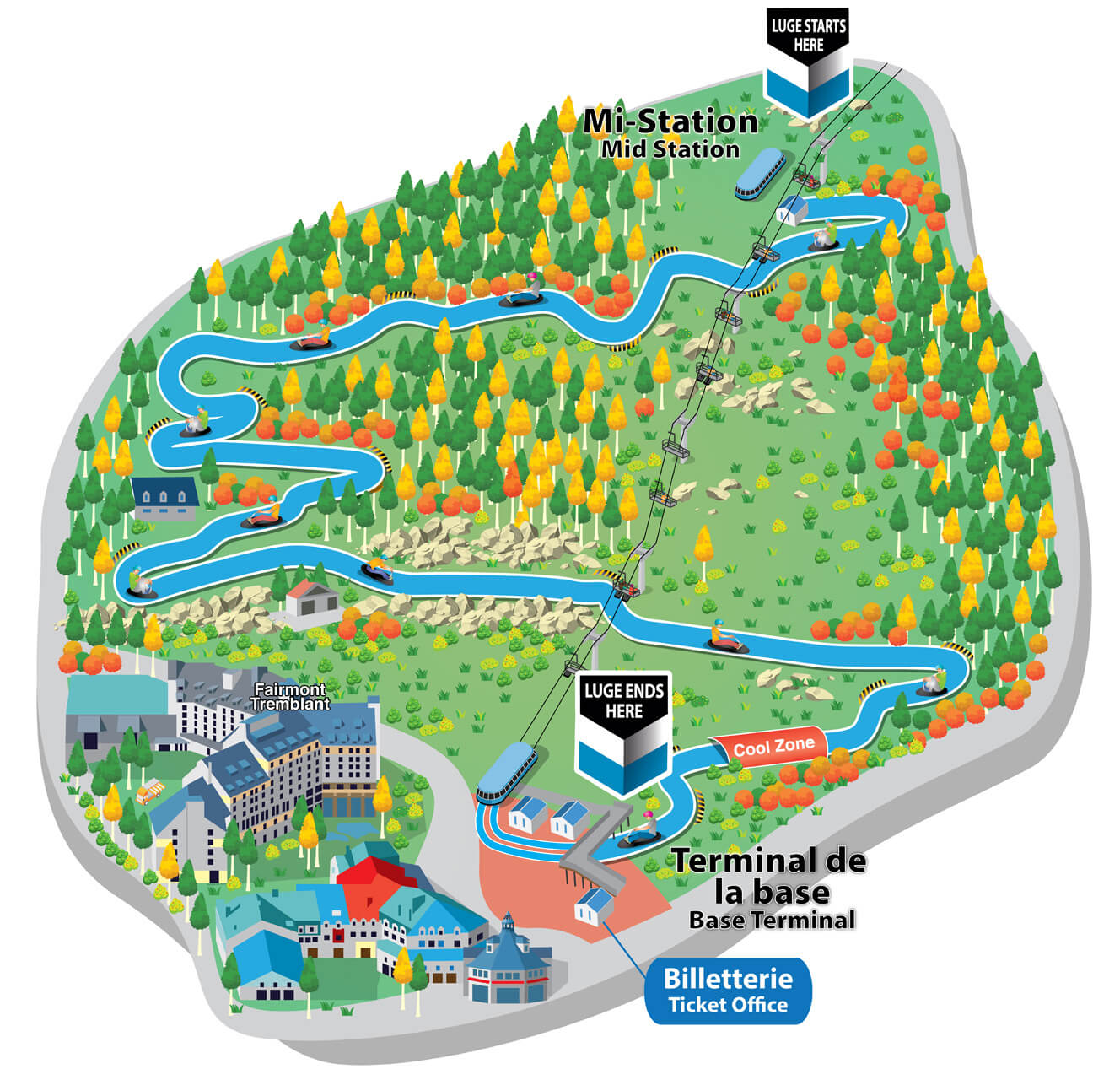 Skyline-Luge-Mont-Tremblant-site-map