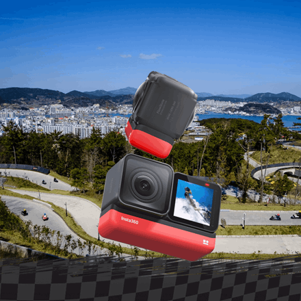 Win this 360 Camera with Skyline Luge Tongyeong and Insta360!